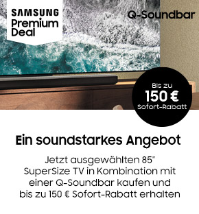 Samsung Big Inch plus Soundbar