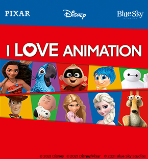 Disney I love Animation