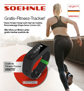 Soehnle Gratis Fitness Tracker Aktion