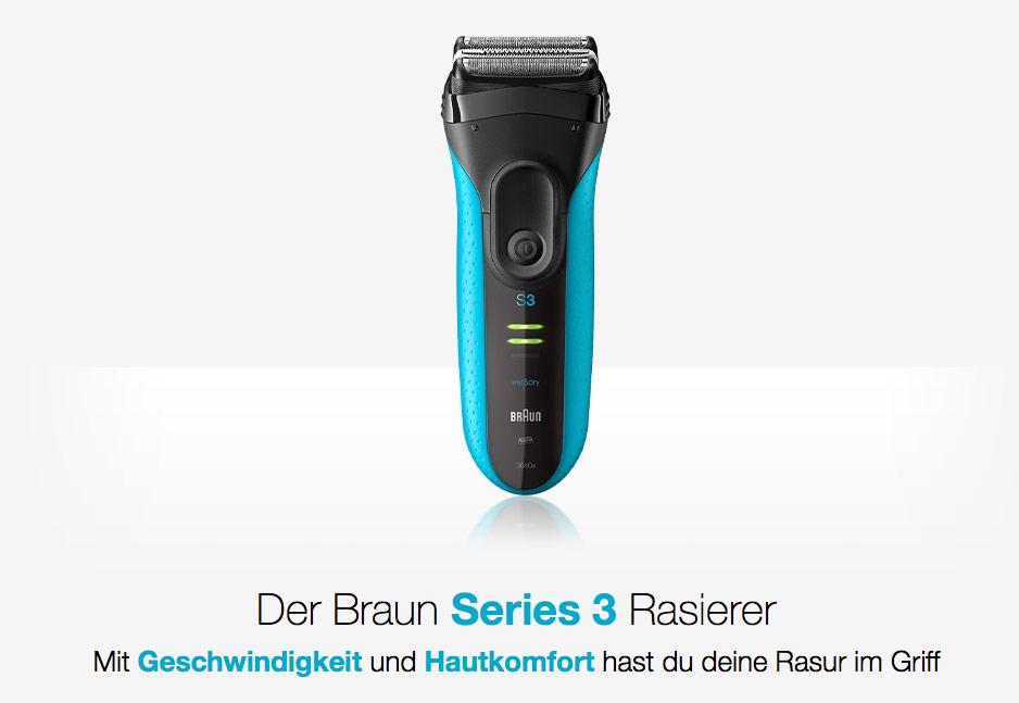 Braun Series 3 Rasierer Mediamarkt