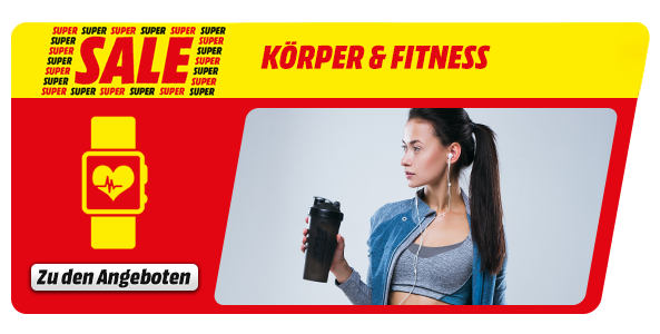 Super Sale: Körper & Fitness
