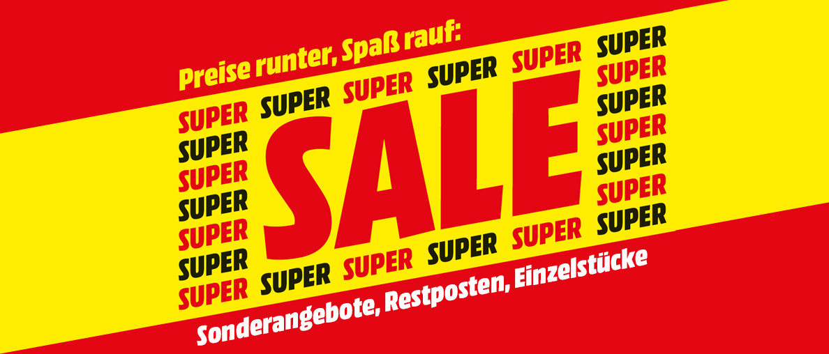 Super Sale bei MediaMarkt!