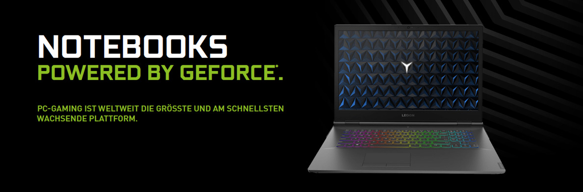 NVIDIA GeForce Notebooks