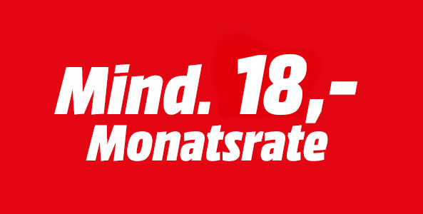 Mind. 18,- Monatsrate