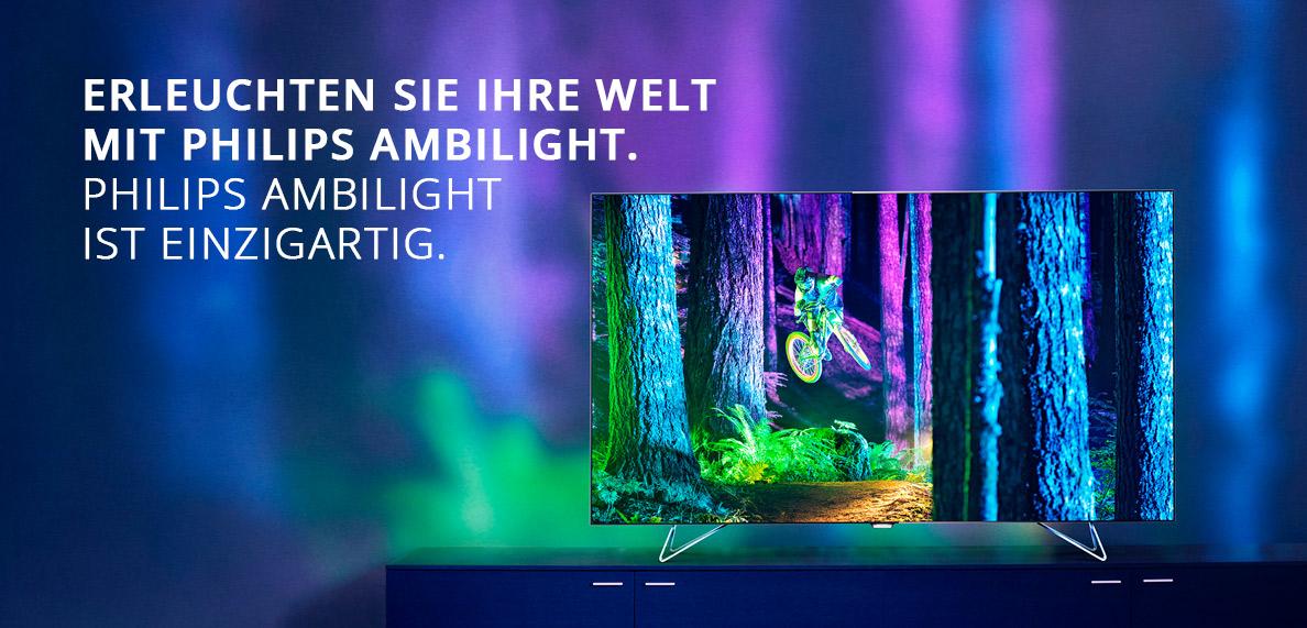 Philips TV mit Ambilight online entdecken | MediaMarkt